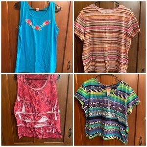 Plus Size Women's Top Lot